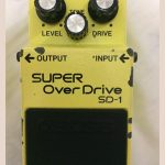Pedal BOSS SD 1 Made in Japan